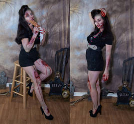 Zombie pinup 3 by magikstock