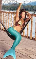 Genie Mermaid by SeaFairy-Fantasies