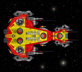 frigate by wickedsteve