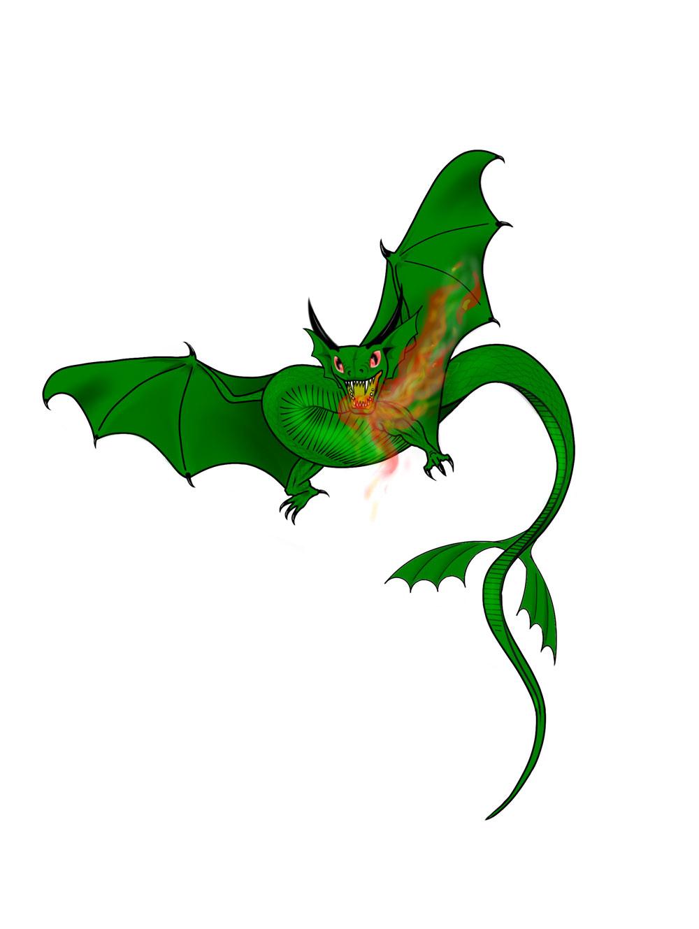 Dragon by wickedsteve