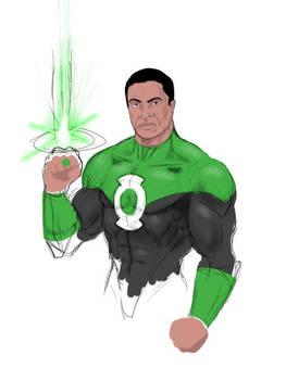 Green Lantern John Stewart WIP
