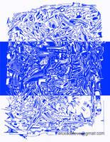 Blue Doodle by wickedsteve
