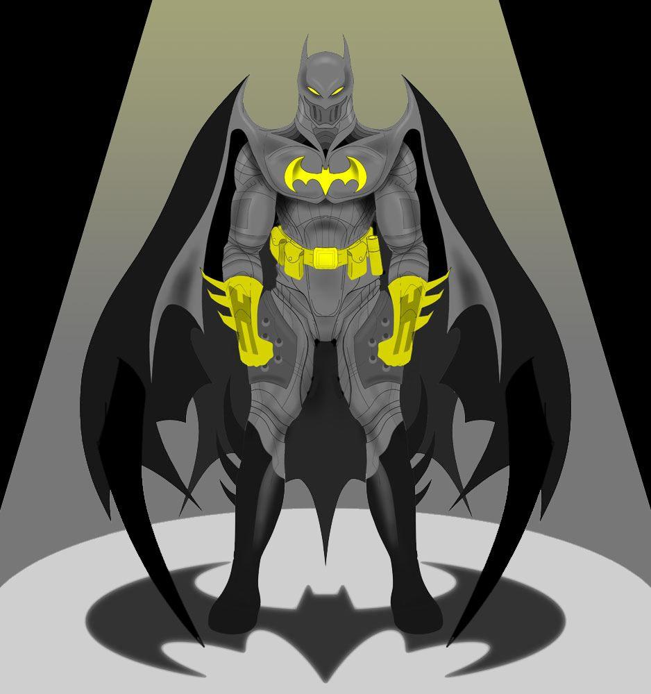 Batman by wickedsteve