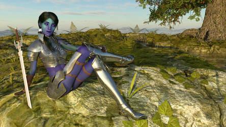 Defender rest by tantricweezel