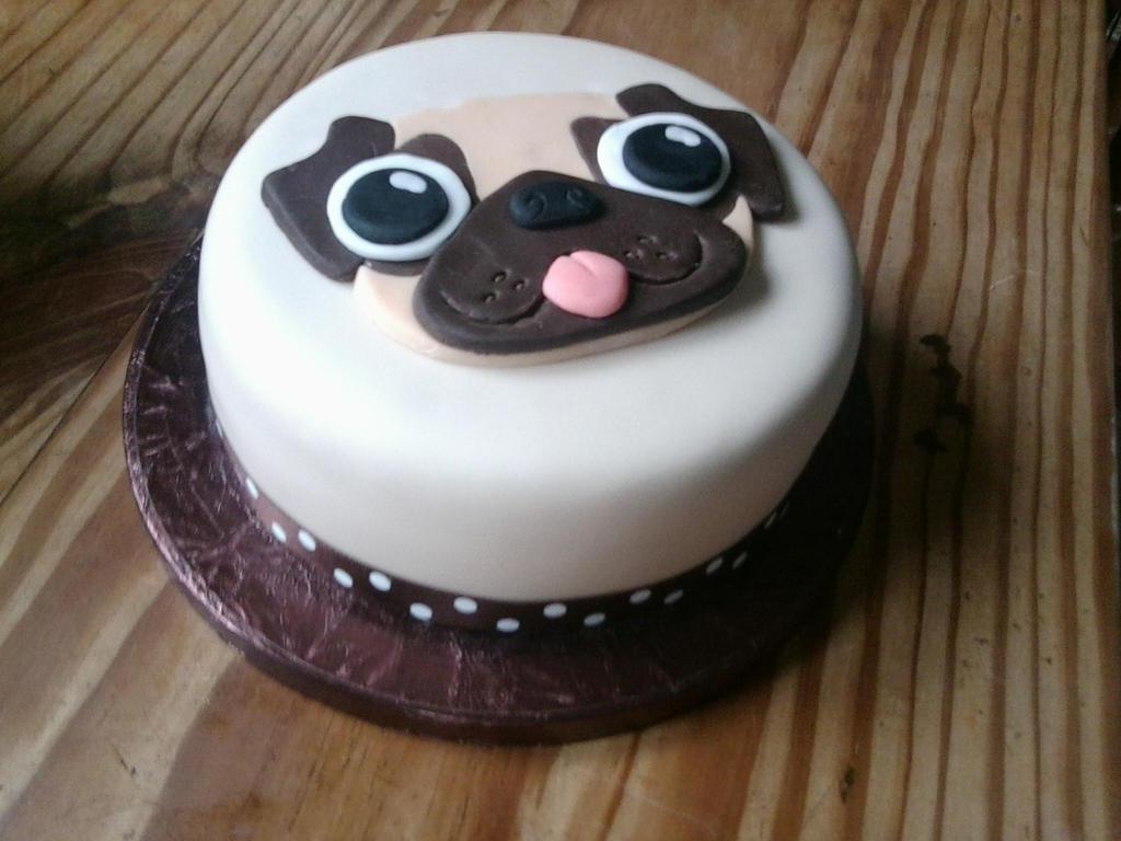 Pug Dog Cake Images : Pin Pug Cake For The Love Of Cake on Pinterest
