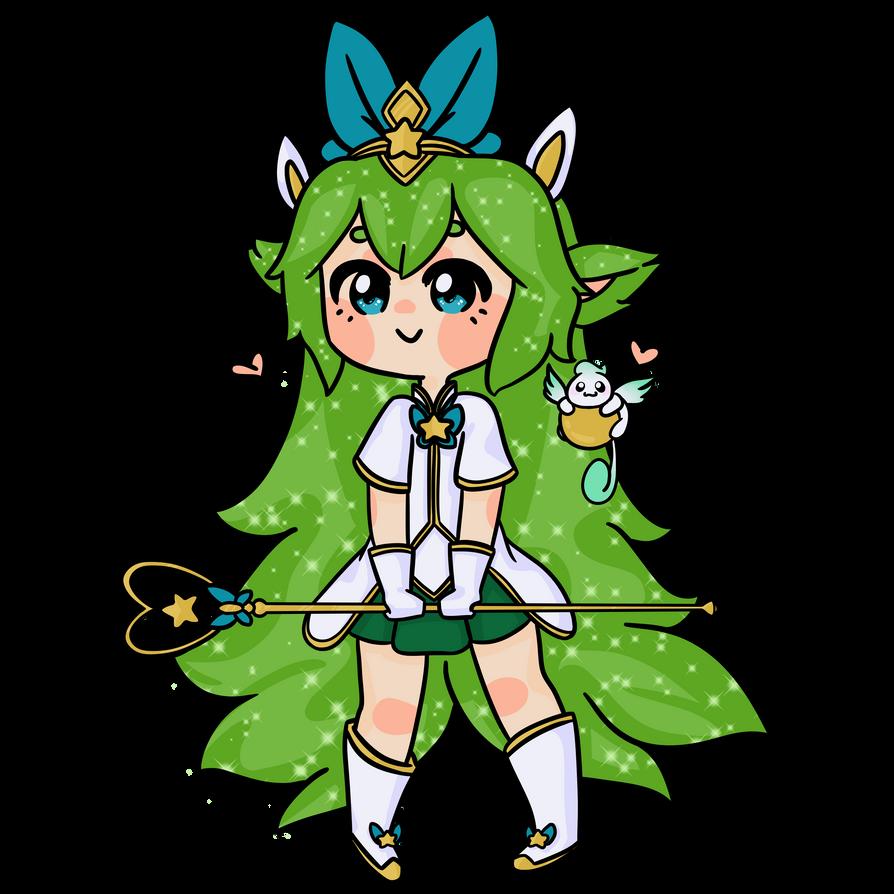 Star Guardian Lulu Sticker by sofu-tofu