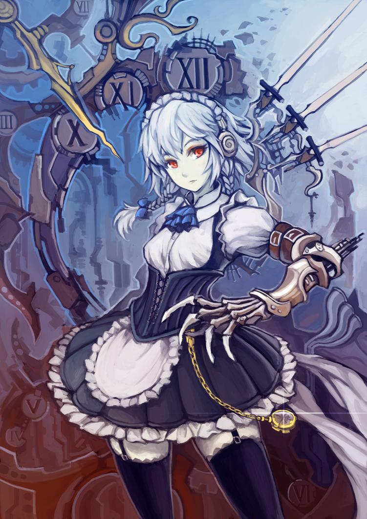 Sakuya Steampunk by Haimerejzero