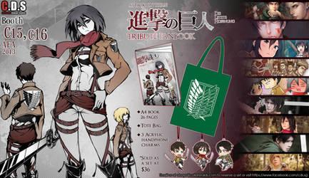 Shingeki no Kyojin Tribute Fanbook by Haimerejzero