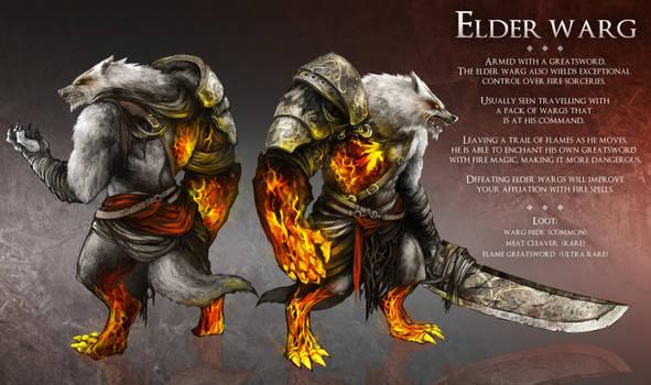 Elder Warg by Haimerejzero