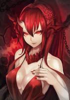 Battleship Demon Yamato by Haimerejzero