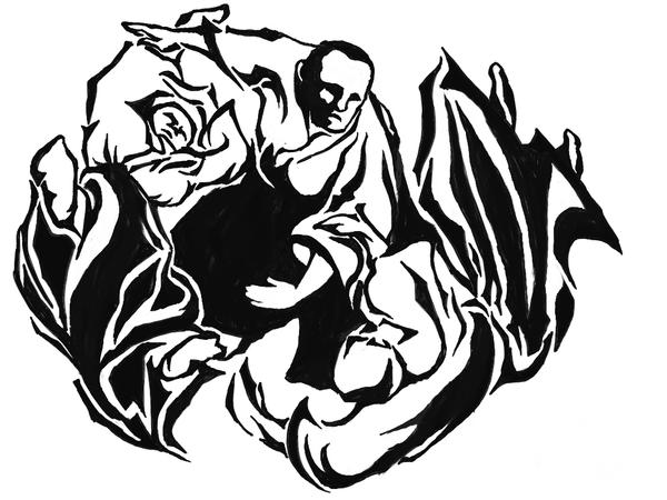 Aikido Martial Art Tattoo Pictures