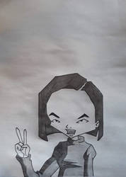 Code Lyoko Yumi Drawing