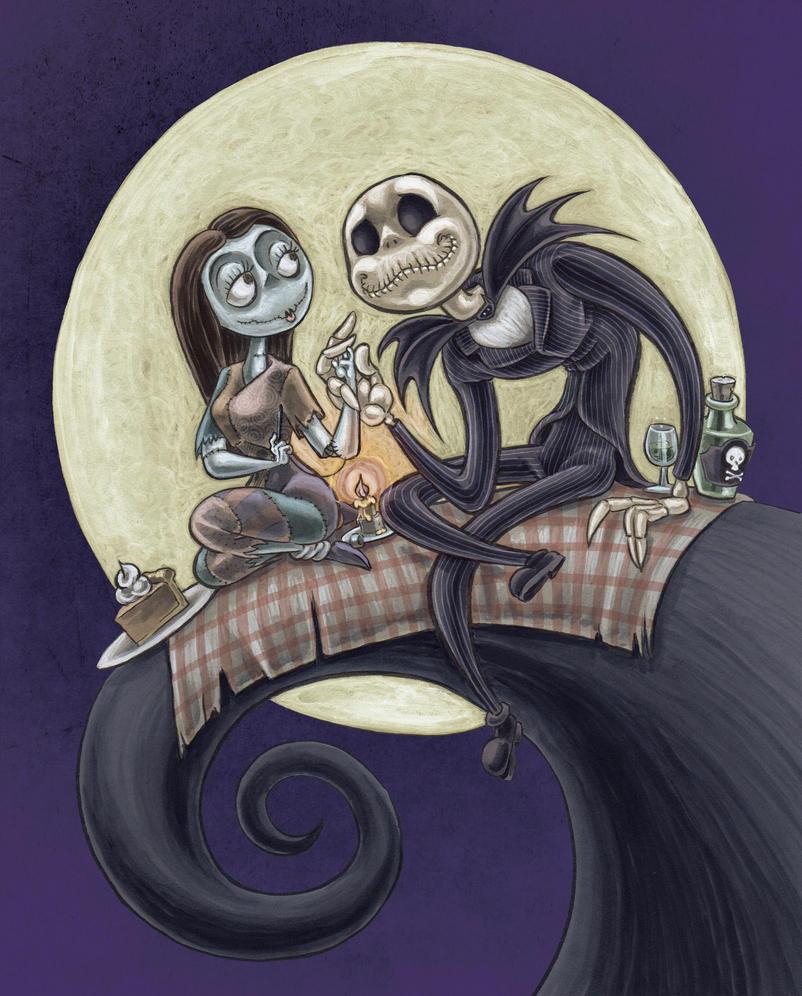 Sally and jack by jrosenbomb
