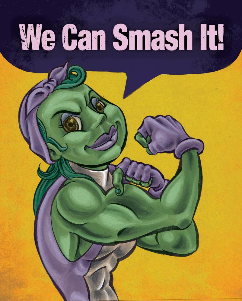 She hulk can by jrosenbomb