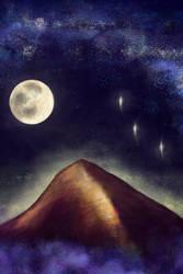The Uncommon Mountain by JuliaBusko