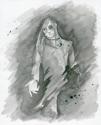 The figure in the Mist by JuliaBusko