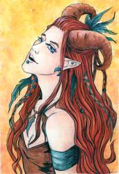 The Druid by JuliaBusko