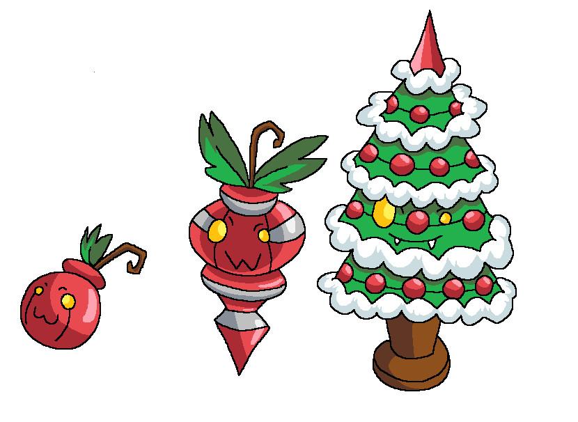 Christmas tree Pokemon by Shioriko on DeviantArt