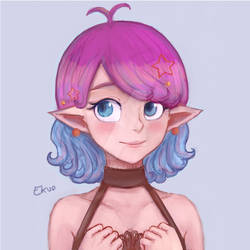 Cute girl sketch