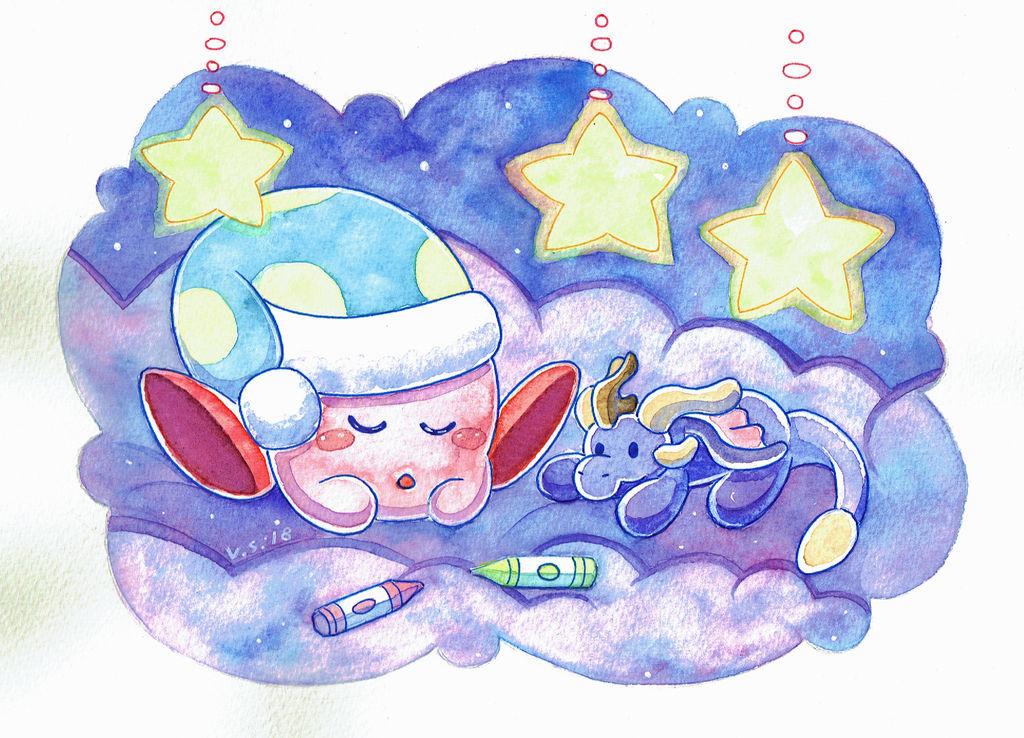 Sleepy Kirby
