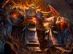 Unicron Destroyer of Worlds