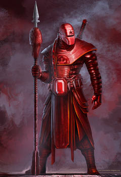 Samurai Imperial Guard Concept by cgfelker