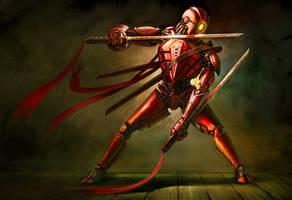 Ominous the Red Ninja