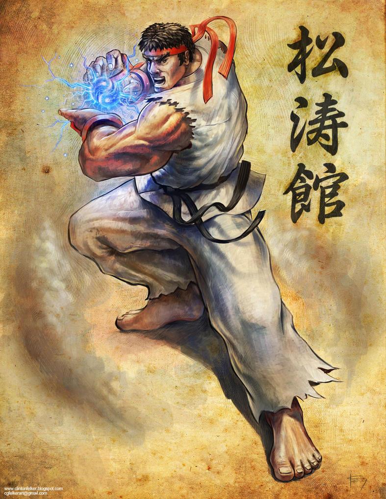 Ryu by cgfelker