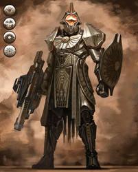 Destiny Titan Concept B by cgfelker