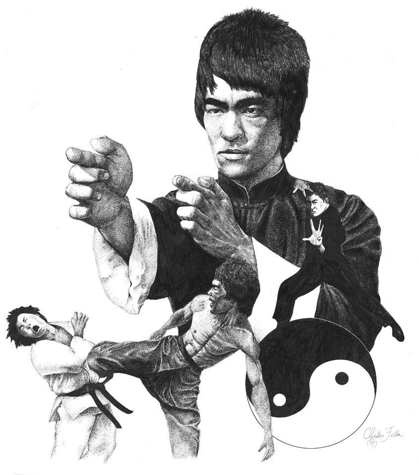 Bruce Lee by cgfelker