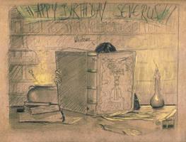 Happy Birthday Sev by AnCatDubh