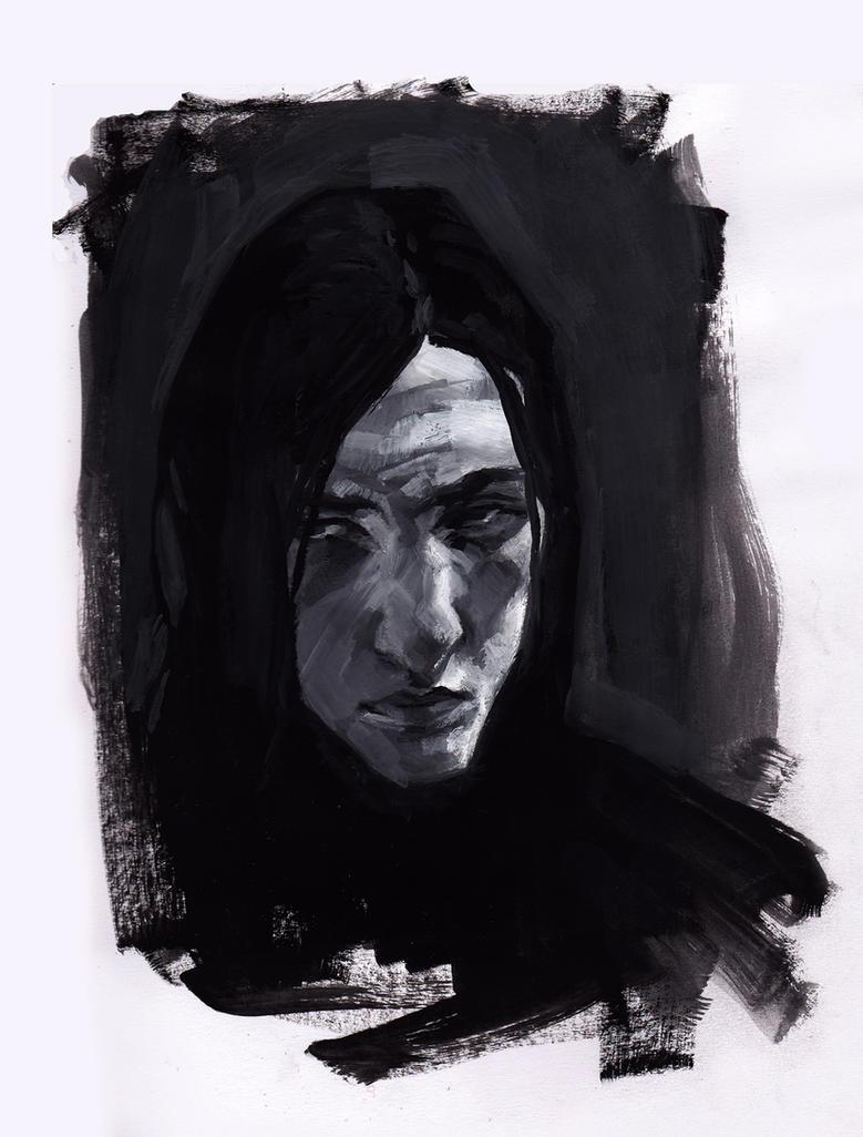 Snape, 1980 by AnCatDubh