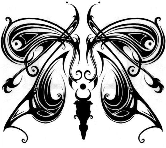 porch page of tribal july 1104 - butterfly tattoo