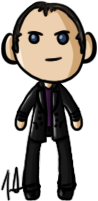 Doctor Who - Ninth Doctor by shrimp-pops