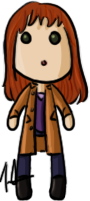 Doctor Who - Donna by shrimp-pops