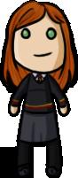 Harry Potte - Ginny by shrimp-pops