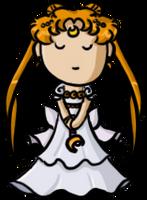 Sailor Moon - Princess Serenity by shrimp-pops