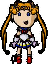Sailor Moon - Super Sailor Moon by shrimp-pops
