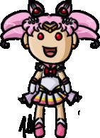 Sailor Moon - Super Sailor Chibi Moon by shrimp-pops