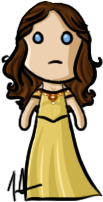 Once Upon A Time - Belle by shrimp-pops