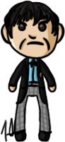 Doctor Who - Second Doctor by shrimp-pops