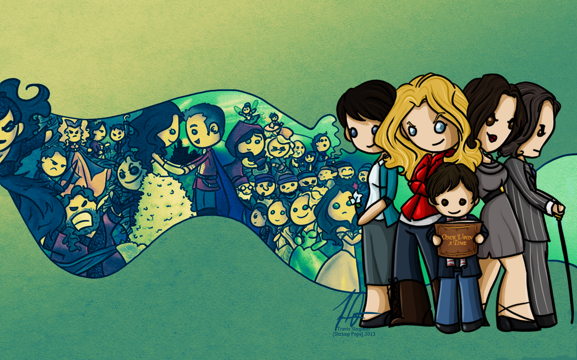 Once Upon A Time - Wallpaper by shrimp-pops