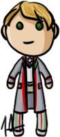 Doctor Who - Fifth Doctor by shrimp-pops