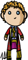 Doctor Who - Sixth Doctor by shrimp-pops