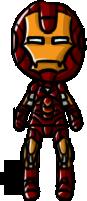 Marvel Cinematic Universe - Iron Man (Mark VI) by shrimp-pops