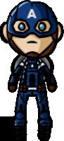 Marvel Cinematic Universe - Captain America (CAWS) by shrimp-pops