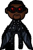 Marvel Cinematic Universe - Falcon (CAWS) by shrimp-pops