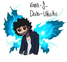 Dabi Tumblr Ukaku by Artfullypretty