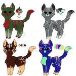 Adoptable Kitties [4/4 Open]