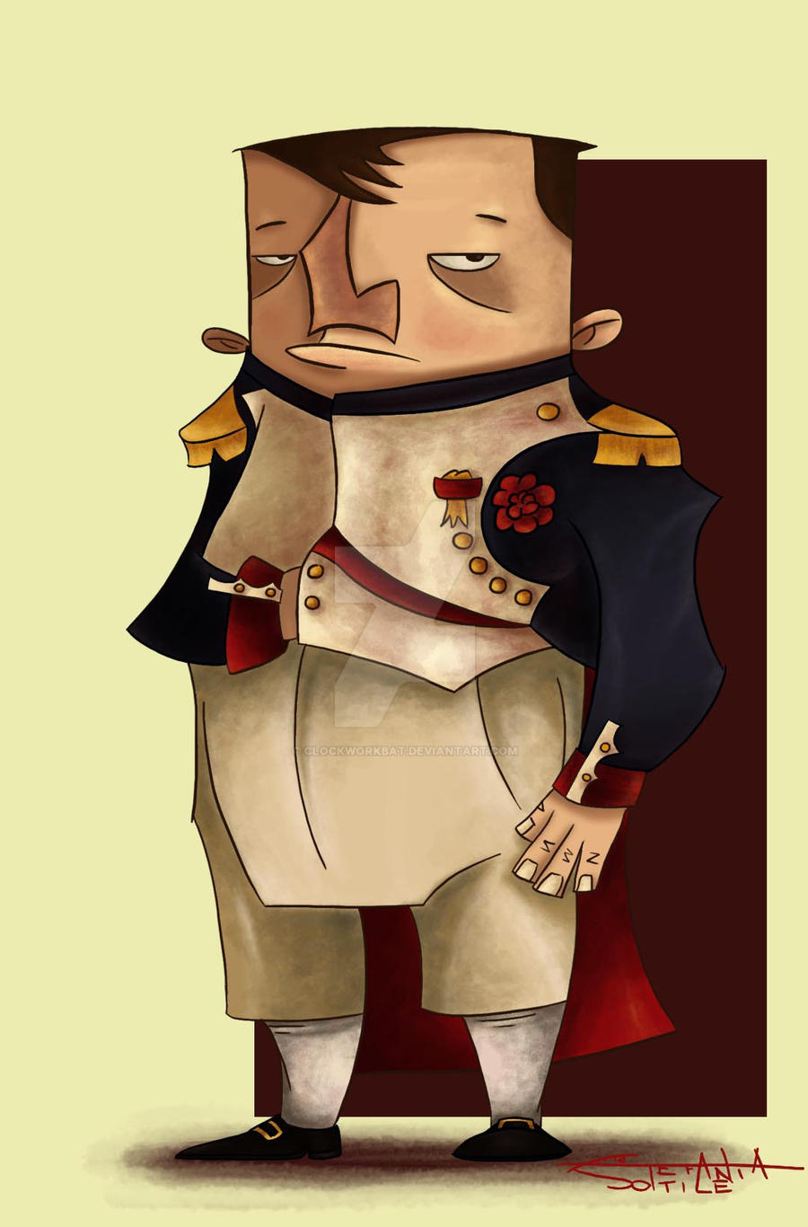 Napoleon Bonaparte by clockworkBAT